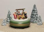 Spieldose Weihnachtsmarkt aus dem Erzgebirge