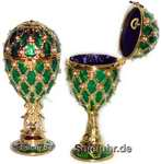 Schmuck- Ei nach Faberge Art mit Spieluhr