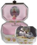 Schmuckdose mit Ballerina-Spieluhr