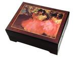 Bildschatulle Ballettprobe von Edgar Degas mit Spieluhr