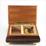 Schmuckschatulle Intarsie Instrumente