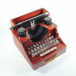 Nostalgische Schreibmaschiene mit Spieluhr