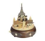 Erzgebirgische Spieldose-Spieluhr Kurrende Seiffener Kirche