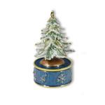 Spieluhr Musikdose mit Weihnachtsbaum
