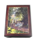Bildlackdose Parc Monceau von Monet, mit Spieluhr
