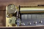 Spieluhren-Musikwerk drei Spieluhr Melodien 72 Töne