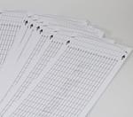 Lochbandstreifen für Spielwerk 20 Ton für eigene Melodien aus Synthetikfasern