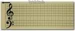 Lochband-Spieluhr 20 Ton für Bastler