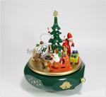 Spieluhr-Spieldose Weihnachtstraum mit vielen Details ad. Erzgebirge