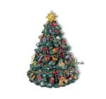 Weihnachtsbaum mit Spieluhren Melodie