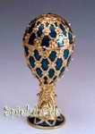 Schmuck-Ei nach Faberge Art mit Spieluhren Melodie