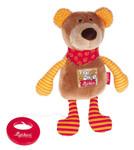 Baby Spieluhr Kuscheltier Bär Red Stars Sigikid mit Tasche