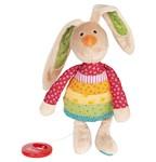 Baby Spieluhr Kuscheltier Rainbow Rabbit mit Tasche