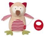 Baby Spieluhr Kuscheltier Organic Eule Sigikid mit Tasche