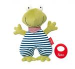 Baby Spieluhr Kuscheltier Organic Frosch Sigikid mit Tasche