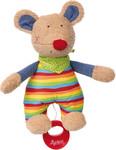 Baby Spieluhr Kuscheltier Maus Colin Colori Sigikid mit Tasche