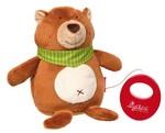 Baby Spieluhr Kuscheltier Bär Sigikid mit Tasche