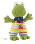 Baby Spieluhr Kuscheltier Fortis Frog Sigikid mit Tasche
