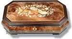 Große Schmuckschatulle mit viel Platz und 30-Ton Spieluhr Melodie