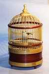 Vogelkäfig mit mechanischem Vogelgezwitscher
