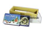 Weihnachten in einer Streichholzschachtel mit Spieluhr