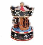 Piraten Karussell mit Spieluhr