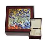 Bildlackschatulle Schwertlilien von Vincent van Gogh