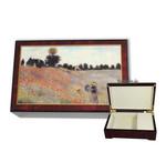 Bildlackschatulle Mohnfeld von Claude Monet