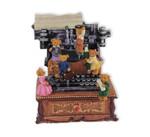 Spieluhr Schreibmaschine mit Bärchen