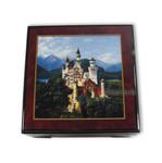 Bildlackdose Schloss Neuschwanstein, mit Spieluhr