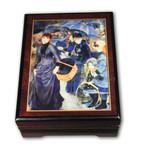 Schmuckschatulle Regenschirme von Renoir, mit Spieluhr