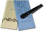 Lochbandstreifen für Spielwerk 33 Töne 10 er Pack