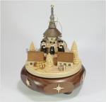 Spieluhren-Spieldose Seiffener Kirche mit Kurrende