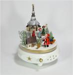 Spieldose Seiffener Christmette mit Weihnachtsmann a.d. Erzgebirge