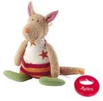 Baby Spieluhr Kuscheltier Honey-Stripes Känguru Sigikid mit Tasche
